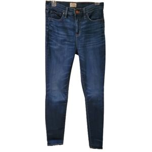 J. Crew Lookout High Rise Skinny Jeans - Size 28
